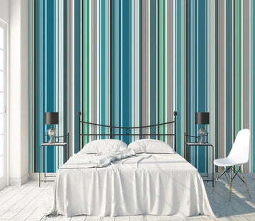 3D Green Vertical WC1780 Wall Murals