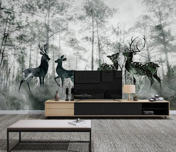 3D Black Forest WC2638 Wall Murals