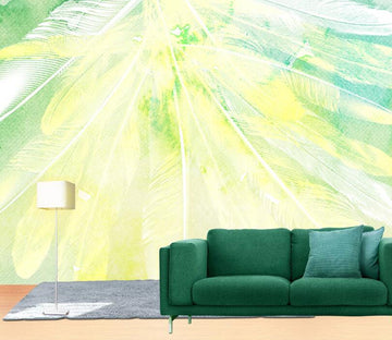 3D Abstract Feather WC2474 Wall Murals