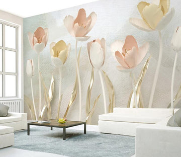 3D Flowers Jewelry WC2645 Wall Murals