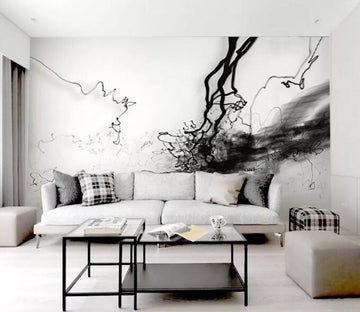 3D Abstract Ink WG583 Wall Murals