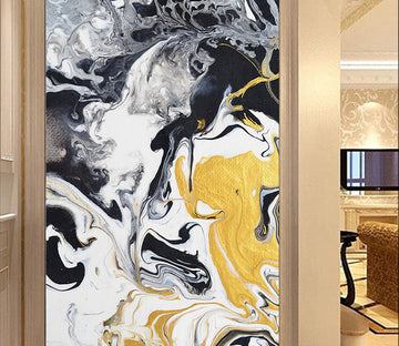 3D Abstract Ink WG060 Wall Murals