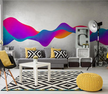 3D Color Abstract WC1795 Wall Murals