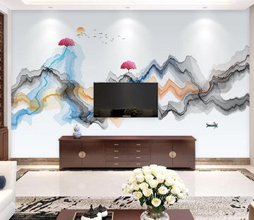 3D Peak Tree WC1806 Wall Murals