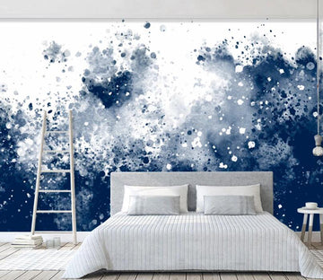 3D Abstract Ink Dot WC1985 Wall Murals