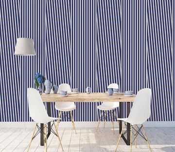 3D Blue Lines WC1777 Wall Murals