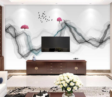 3D Bird Mangrove WC1774 Wall Murals