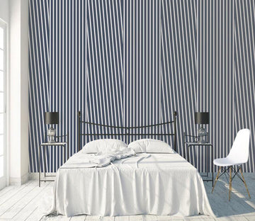 3D Vertical Line WC1778 Wall Murals