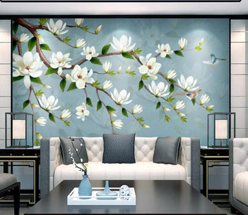 3D Tree Blossom WC1789 Wall Murals