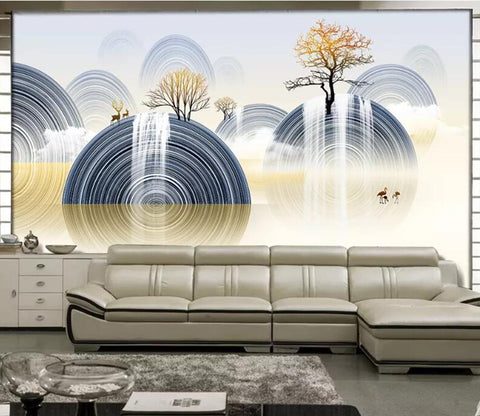 3D Abstract Art WC43 Wall Murals Wallpaper AJ Wallpaper 2