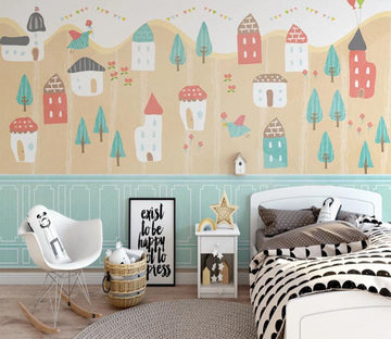 3D Cute And Interesting Arrangement 2596 Wall Murals