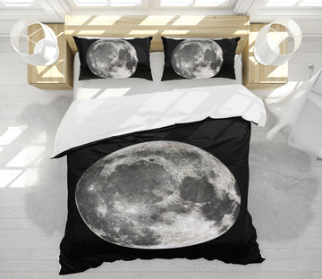 3D Moon 64032 Bed Pillowcases Quilt
