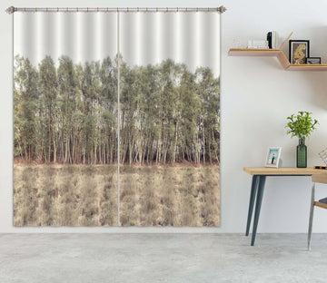 3D Forest Weed 056 Assaf Frank Curtain Curtains Drapes