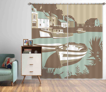 3D Padstow 126 Steve Read Curtain Curtains Drapes