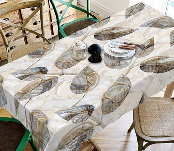 3D Leaf Shape Pattern 53 Tablecloths Wallpaper AJ Wallpaper