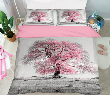 3D Cherry Blossoms 1071 Assaf Frank Bedding Bed Pillowcases Quilt