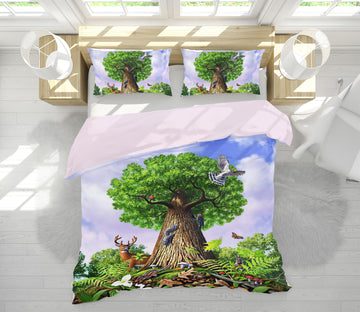 3D Tree Of Life 2134 Jerry LoFaro bedding Bed Pillowcases Quilt