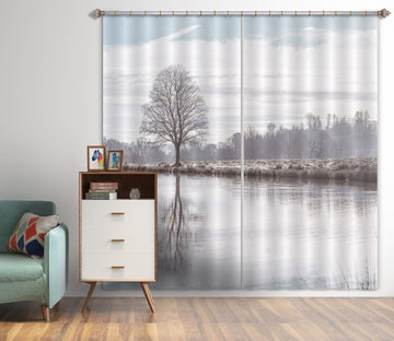 3D Tree Reflection 080 Assaf Frank Curtain Curtains Drapes