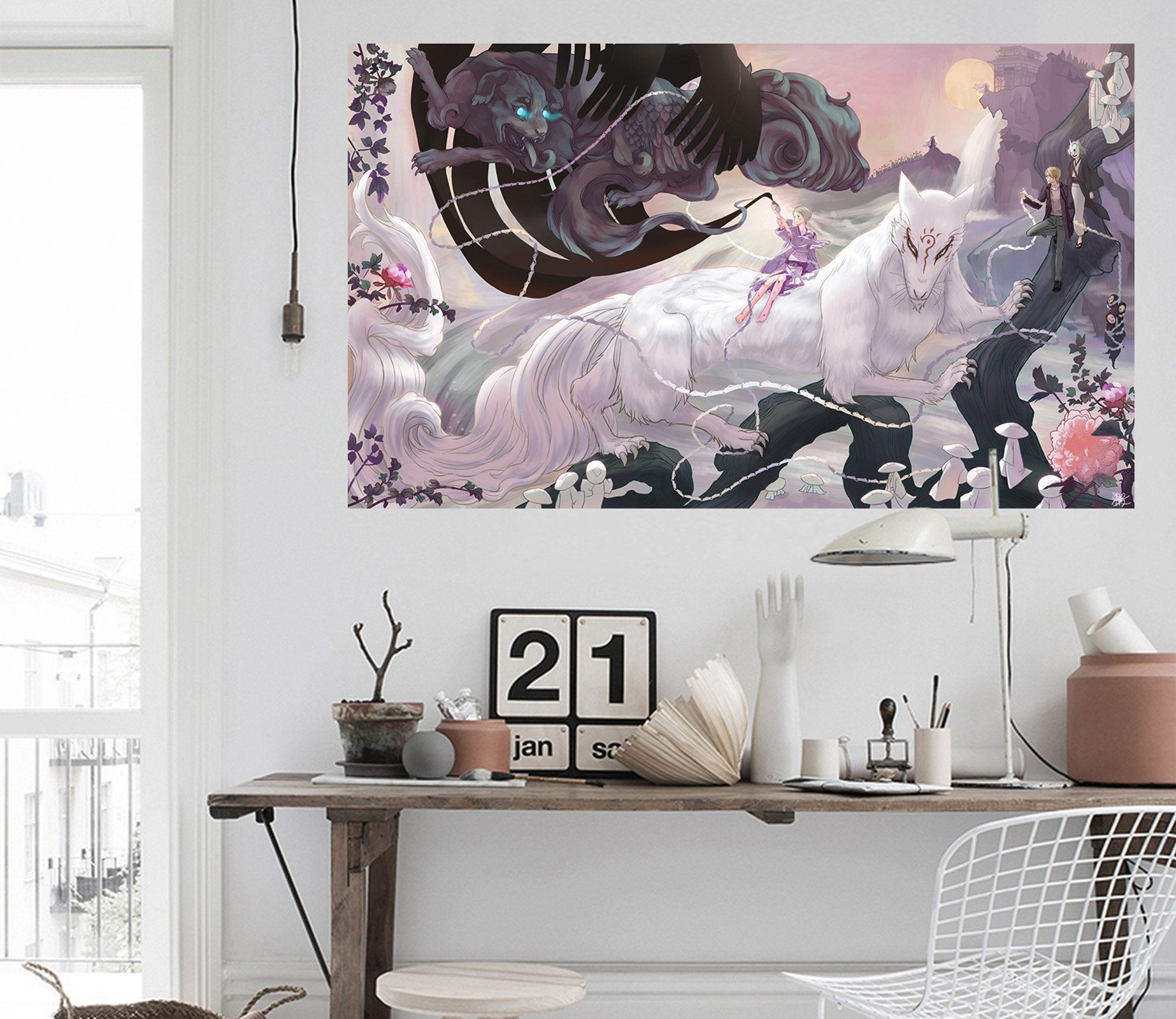 3D Natsume 796 Anime Wall Stickers Wallpaper AJ Wallpaper 2