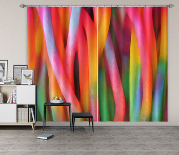 3D Color Bars 71045 Shandra Smith Curtain Curtains Drapes