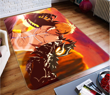 3D One Punch Man 7894 Anime Non Slip Rug Mat