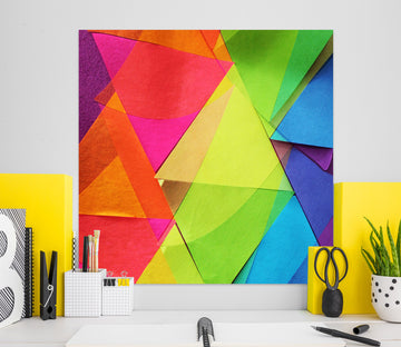 3D Colored Triangle 71121 Shandra Smith Wall Sticker
