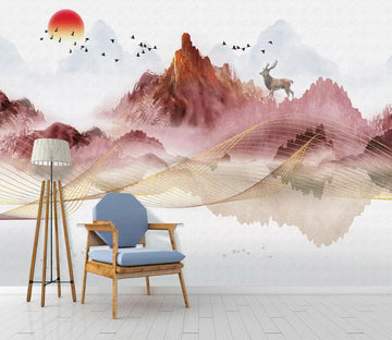 3D Abstract Art WC54 Wall Murals