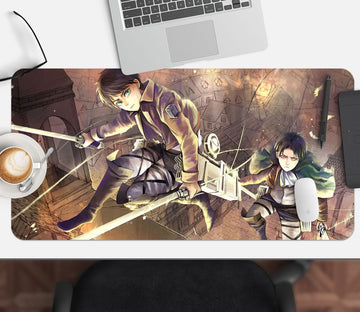 3D Attack On Titan 212 Anime Desk Mat Mat AJ Creativity Home