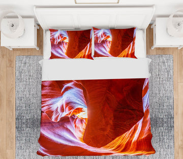 3D Antelope Wave 004 Marco Carmassi Bedding Bed Pillowcases Quilt