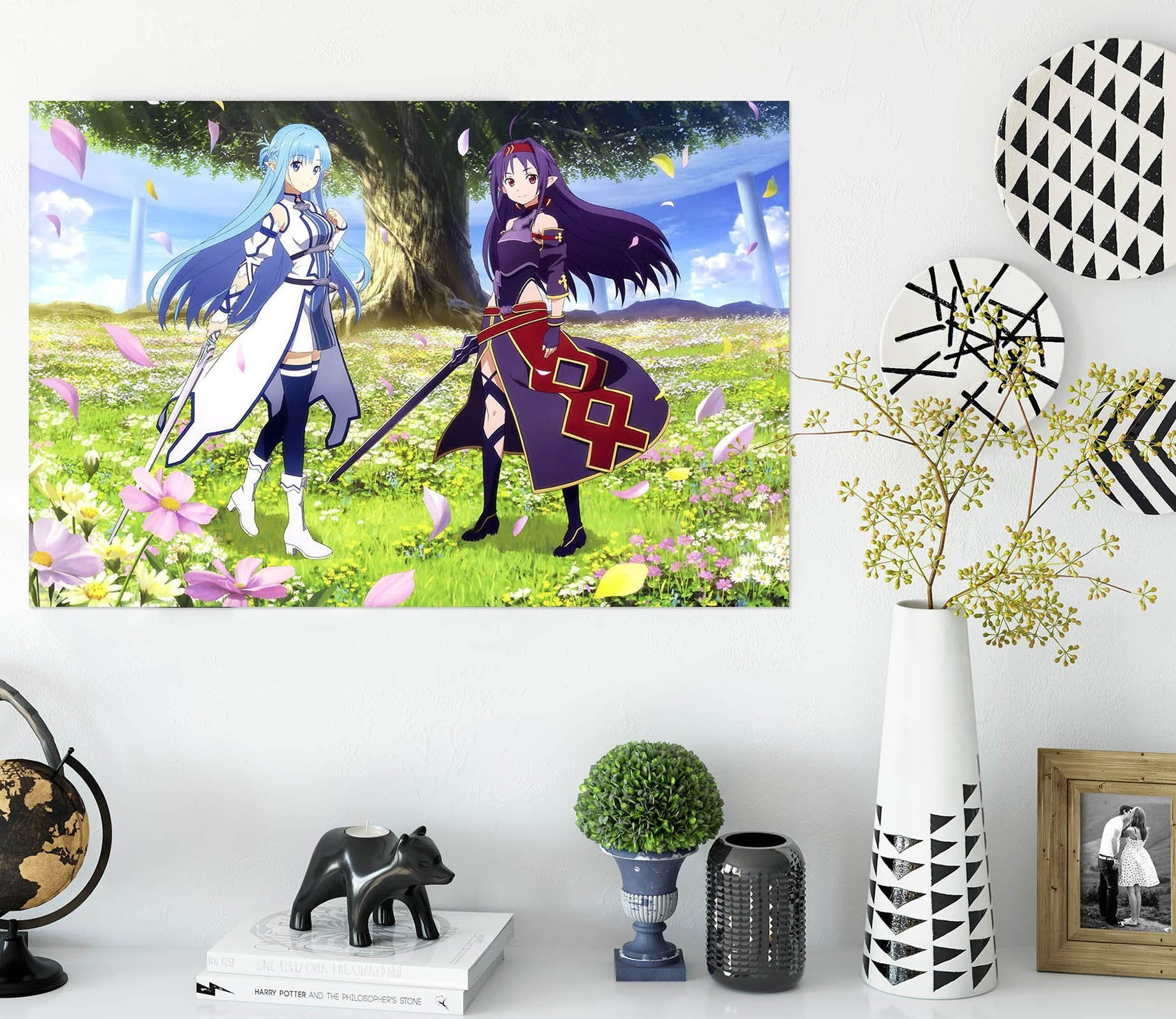3D Sword Art Online 894 Anime Wall Stickers Wallpaper AJ Wallpaper 2
