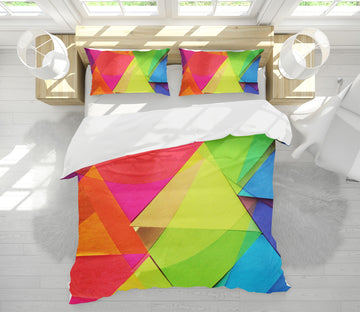 3D Triangle Color 70189 Shandra Smith Bedding Bed Pillowcases Quilt