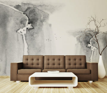 3D Abstract Mountain WG148 Wall Murals