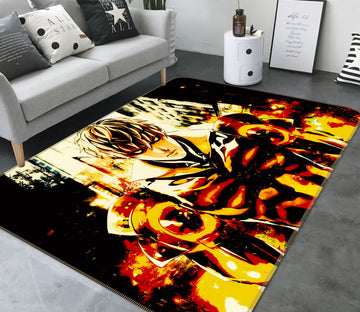 3D One Punch Man 7878 Anime Non Slip Rug Mat
