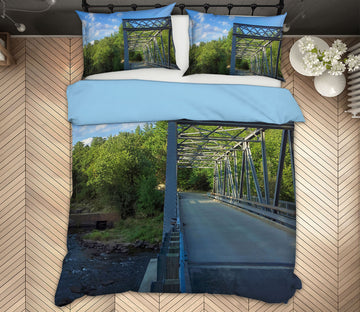 3D Steel Bridge 1023 Jerry LoFaro bedding Bed Pillowcases Quilt