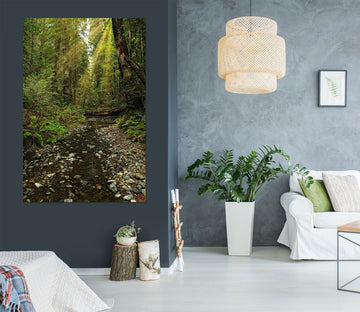 3D Forest Stream 62131 Kathy Barefield Wall Sticker