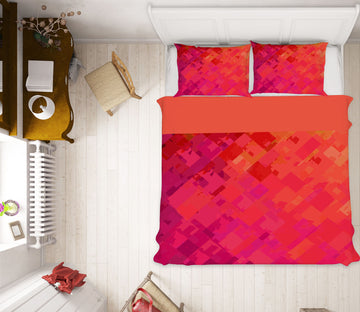 3D Orange Red Graffiti 2005 Shandra Smith Bedding Bed Pillowcases Quilt