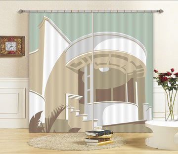 3D Tate St Ives 165 Steve Read Curtain Curtains Drapes