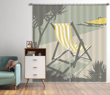 3D St Deckchair 160 Steve Read Curtain Curtains Drapes