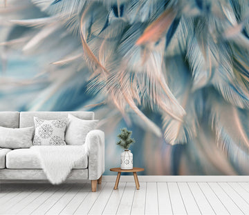 3D Feather 1473 Wall Murals