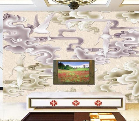 3D Abstract Clouds 891 Wall Murals Wallpaper AJ Wallpaper 2