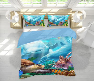 3D Seavilians 2131 Jerry LoFaro bedding Bed Pillowcases Quilt