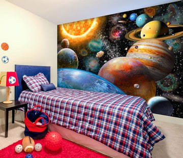 3D Space Odyssey 1405 Adrian Chesterman Wall Mural Wall Murals