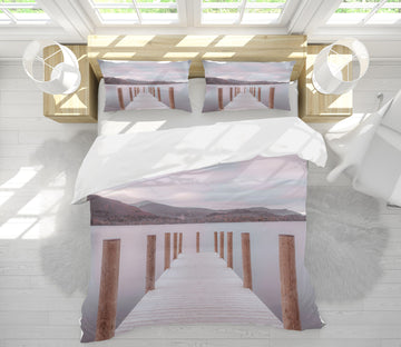 3D Wooden Pier 1070 Assaf Frank Bedding Bed Pillowcases Quilt