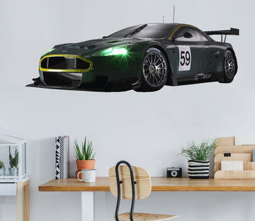 3D FreeVector Aston Martin Race Car 271 Vehicles