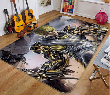 3D One Punch Man 7898 Anime Non Slip Rug Mat