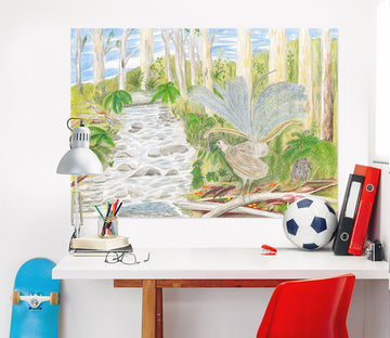3D Forest Path 020 Michael Sewell Wall Sticker