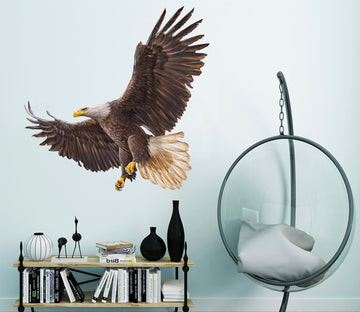 3D Eagle 029 Animals Wall Stickers Wallpaper AJ Wallpaper
