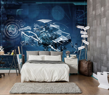 3D Transparent Car 403 Vehicle Wall Murals