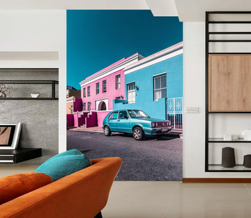3D Architecture Car 425 Vehicle Wall Murals