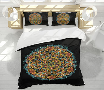 3D Pattern Totem 64037 Bed Pillowcases Quilt